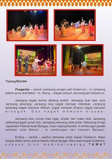 Topeng Blantek 267: Festival Budaya Anak Bangsa 2014