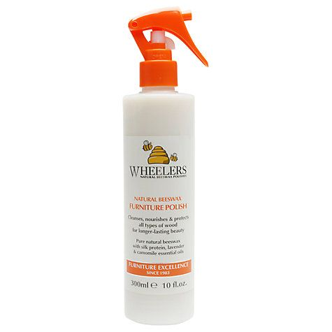 Buy Wheelers Natural Beeswax Furniture Polish Spray, 300ml Online at johnlewis.com