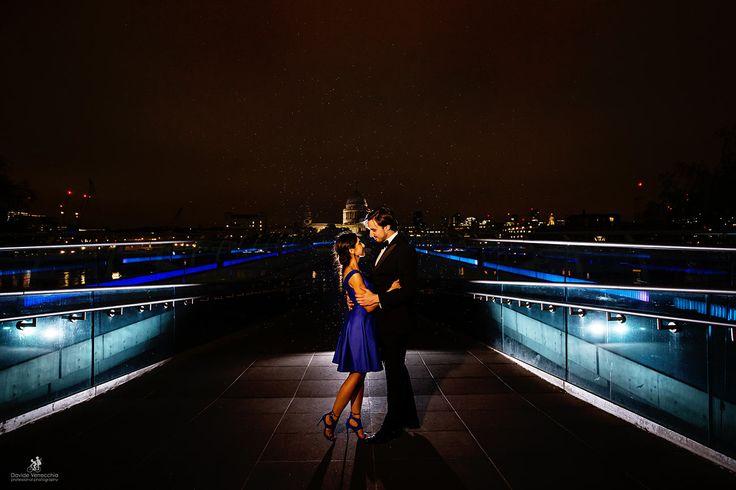 Bellissimo prematrimoniale a Londra con una coppia mista italo - indiana. Engagement in London - Davide Verrecchia - www.davideverrecchia.it