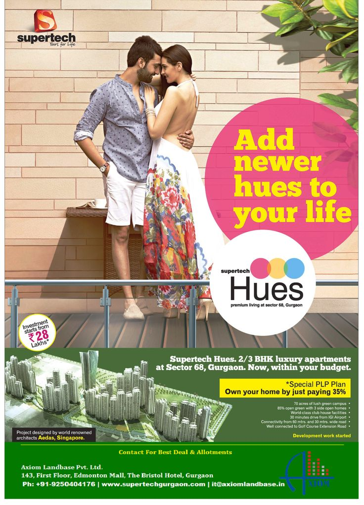 Supertech Hues, Supertech Hues 68, Supertech Hues new launch,Supertech Hues 68 New Apartments