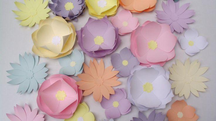 Paper flowers 30 pcs for $8+P&P  Flori din hartie 30 buc 32 lei plus taxe postale  Handmade Paper-Heaven  https://www.facebook.com/handmadepaperheaven