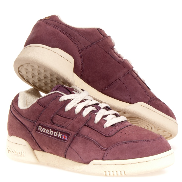 Reebok Workout Plus Clearance Athletic Shoes: Burgundy 10