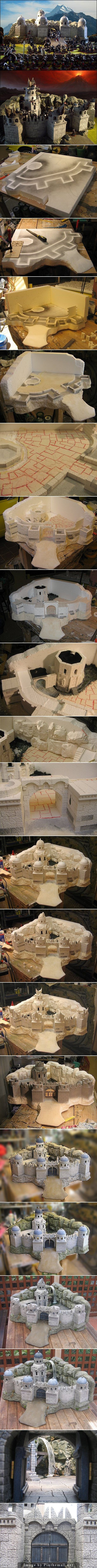A Fortress of Gondor, Dol Amroth… & Mordor. | Onyx's Hobby Blog - created via http://pinthemall.net