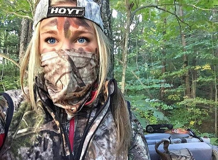 Girls who hunt.