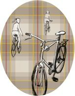 """The Pattern series comes from an imaginary that is Italian for its traits and for the object represented. In """"BC Pattern"""", it is shown a bike you can see everyday in the streets of Bologna and the other cities, as well as in the countryside of Italy.  gamberinitalia.it/Gamberini_Italia/Bc_Pattern.html"""