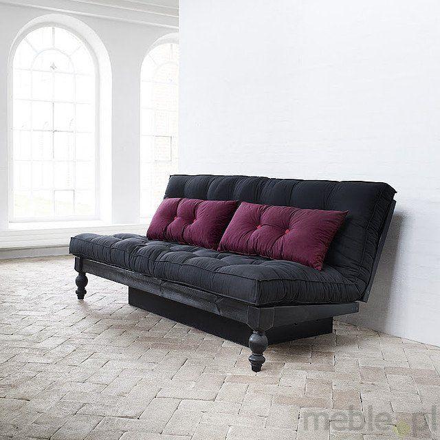 RockO sosnowa sofa rozkładana 130x200 z pojemnikiem