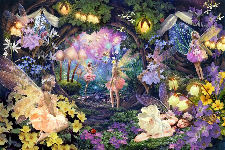 Fairy Hollow - Tapetit / tapetti - Photowall