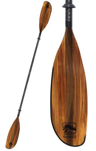 Navigator wood kayak paddle