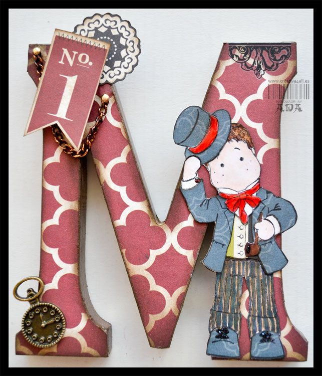 Creativa4all » SCRAPBOOKING: CON M DE MARIA