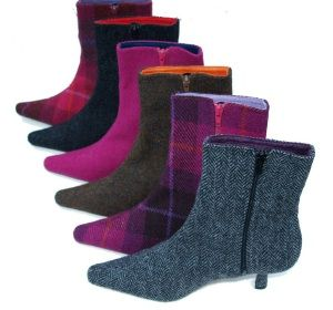 Harris Tweed Shoes and Boots