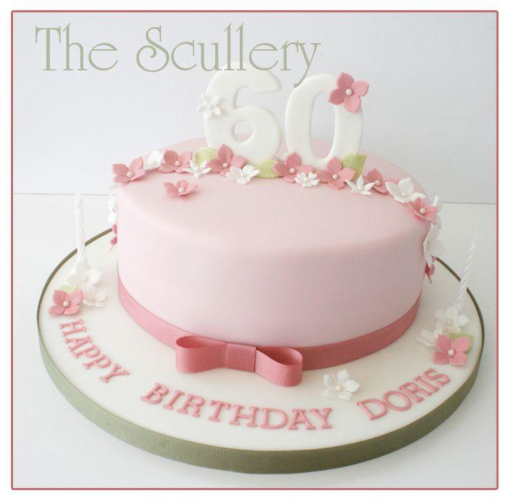 Ladies 60th Cake