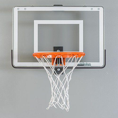 Wall mounted mini basketball hoop mini pro 1 0 - Indoor basketball hoop for bedroom ...