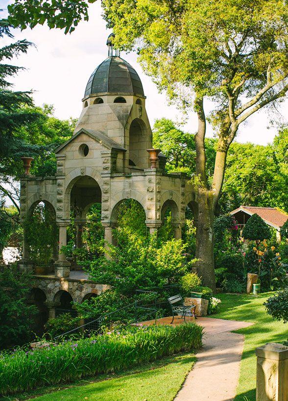 This wedding reception was held at Shepstone Gardens, also informally known as the Secret Garden. Destination Weddings, Wedding Venues