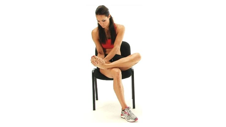 Ankle exercise - Peroneus Longus Stretch
