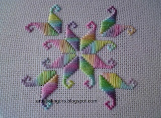 counted thread-hardanger