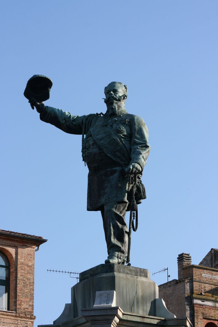 Monumento a Vittorio Emanuele II in Piazza della Libertá
