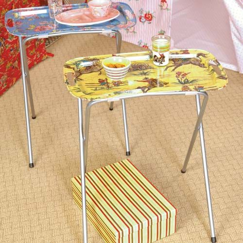Tv Trays So You Could Eat Supper In The Living Room And Watch My Whole Childhood Was Spent Watching News Of Horrible Thing Henin