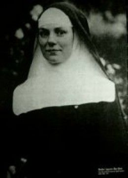 """Élise Rivet was Mother Superior at the convent of """"Notre Dame de Compassion"""", where she not only hid refugees from the gestapo, but also used the convent to stash some weapons & ammunition for the resistance. She was eventually caught & sentenced to hard labor. She volunteered to be killed in place of another woman who has children and is taken to the gas chamber."""