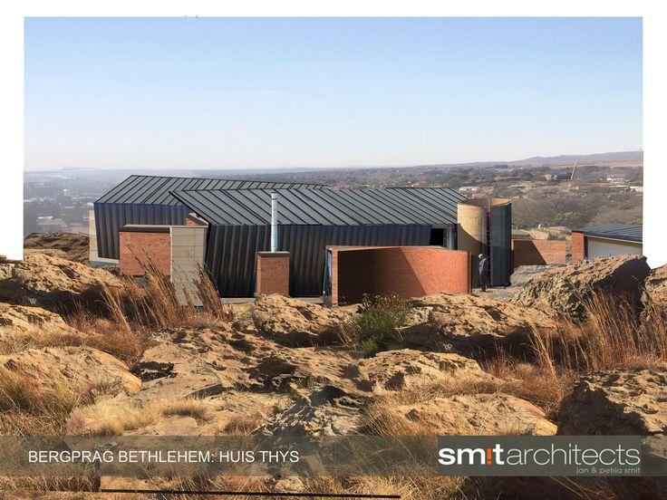 Huis Thys: Bethlehem (model and phtotshop). Smit Architects