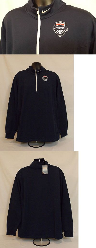 Olympics 27291: New 2016 Rio Olympics Basketball Team Usa Nike 1 4 Zip Pullover Jacket Men S Xxl -> BUY IT NOW ONLY: $99.99 on eBay!