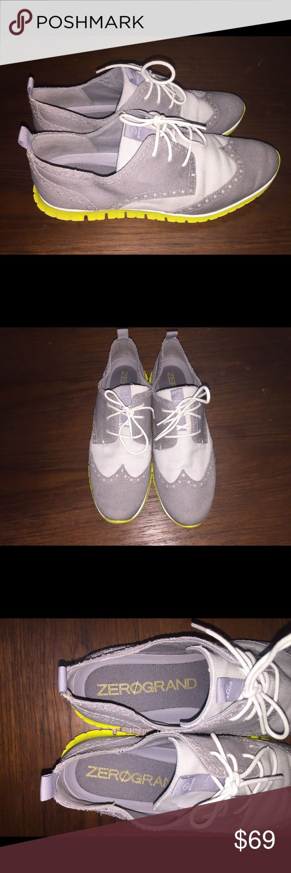 Cole Haan Zero Grand Oxford Shoes Unique and oh so comfortable! Worn once. In fantastic condition. I haven't seen anyone else with shoes like this! MAKE ME AN OFFER! Cole Haan Shoes Flats & Loafers