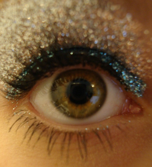 I cant wait to coach cheerleading so I can do their makeup like this!!!! :)