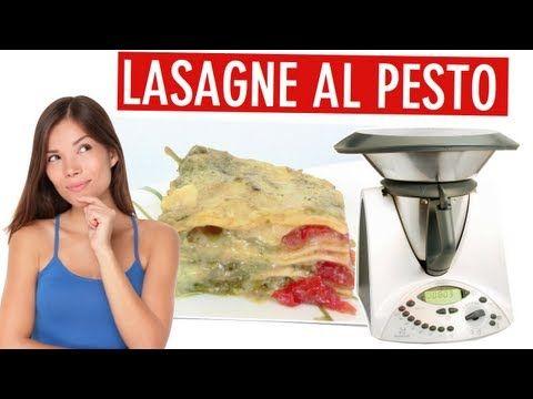 ▶ Video ricetta Bimby: Lasagne al Pesto Bimby - YouTube