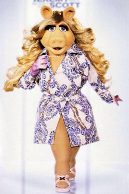 Image result for skinny miss piggy