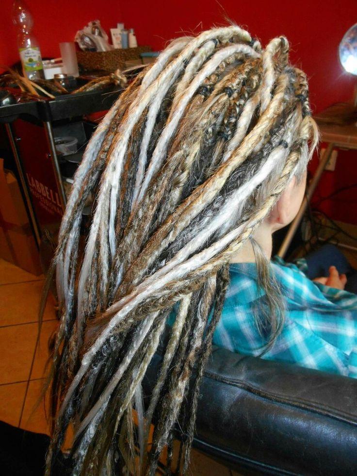 Beautiful fake dreads