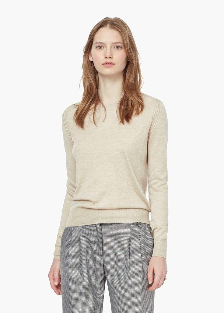Jersey cashmere -  Mujer | MANGO