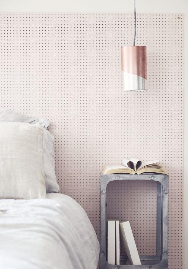 DIY Tin Can Pendant Lamp Tutorial