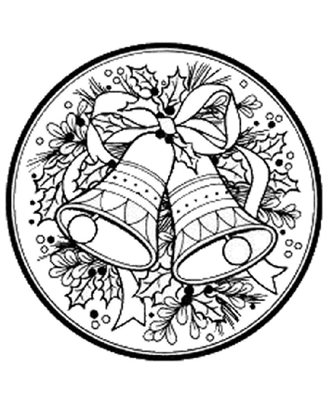 205 best images about coloring pages christmas on pinterest for Christmas wreath coloring pages