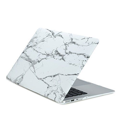 """TOP CASE White Marble Matte Hard Case for MacBook Air 11""""  TOP CASE White Marble Matte Hard Case for MacBook Air 11""""  Expires Sep 16 2017"""