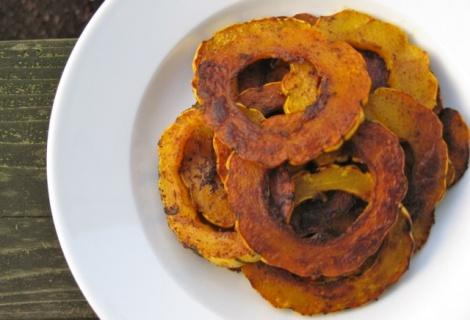 Fast Paleo » Baked Delicata Squash Fries