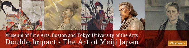 Double Impact – The Art of Meiji Japan [Nagoya/Boston Museum of Fine Arts]