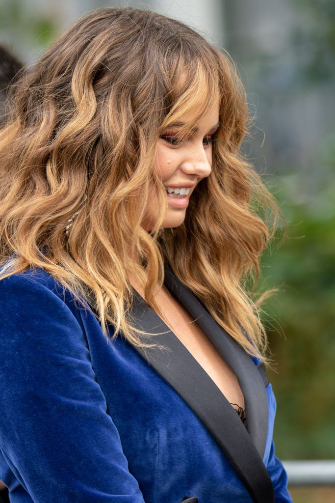 Debby Ryan Street Style Paris Fashion Week Elia Saab SS20
