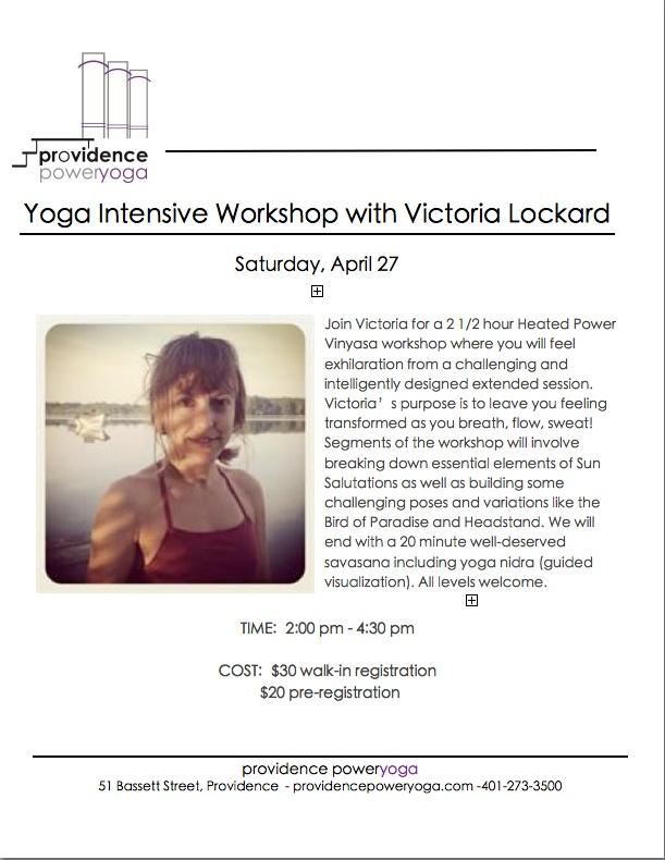 Yoga Intensive with Victoria Lockard