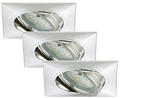 http://ift.tt/1QBVP9I Briloner Leuchten LED Einbauleuchten Einbaustrahler 3-er Set schwenkbar 5 W IP23 energiesparend Energieeffizienzklasse A chrom 7210-038 ! salesviiko@