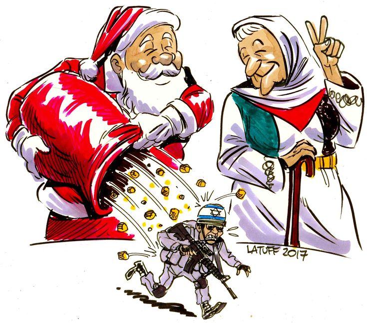 Feliz Natal da Mãe Palestina! Merry Xmas from Mother #Palestine