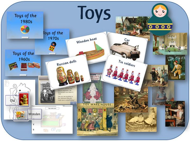 Toys KS1 topic resources - powerpoints, activity and display pack