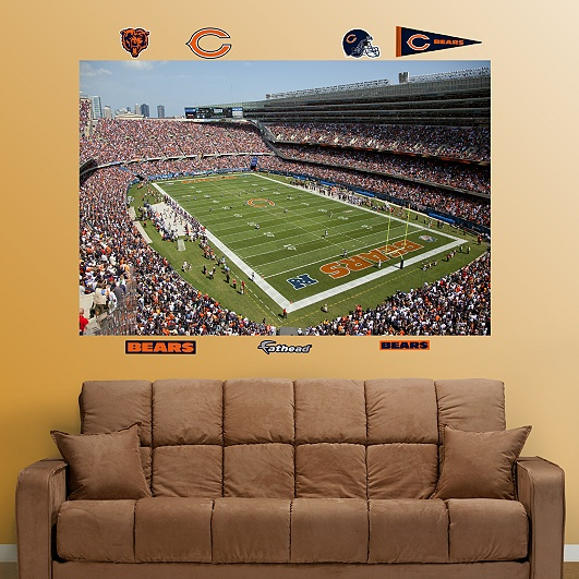 41 best images about wrigley field soldiers field on for Dallas cowboys stadium wall mural