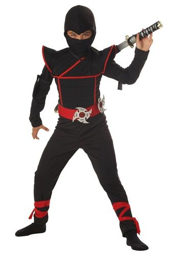 This Kids Stealth Ninja Costume is great for Halloween or for play time! Your son can accomplish any ninja mission he can imagine.