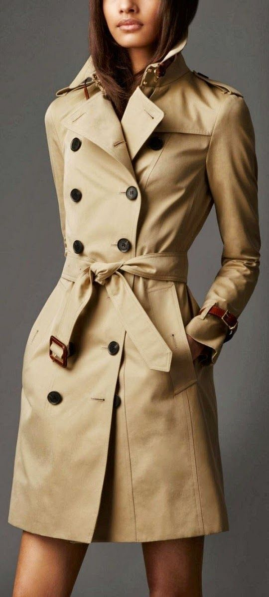 Burberry Leather Trench #burberry #NaaiAntwerp