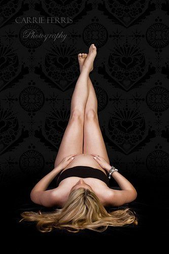 I have one like this from my boudoir shoot, so a beautiful maternity shot like this would be perfect!