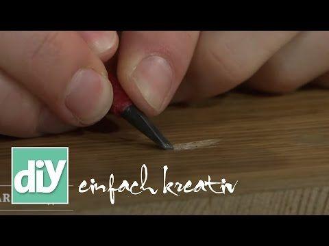 Macken und Kratzer auf Möbeln und Laminat ausbessern | DIY einfach kreativ - YouTube