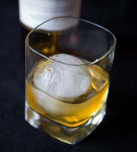 Whiskey Ball Round Ice Molds  | The Whiskey Ball has more volume and less surface area than a traditional ice cube so it melts slower #productdesign