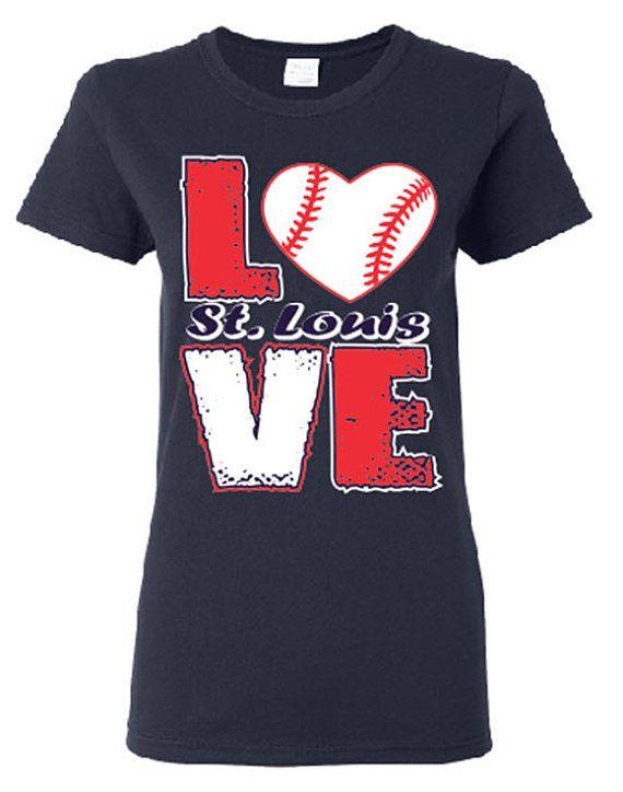 20 best baseball images on pinterest baseball stuff for St louis t shirt printing