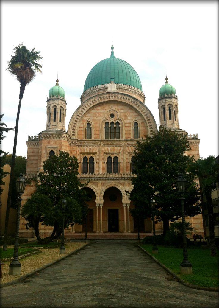 La Sinagoga di Firenze ||||| The synagogue of Florence.