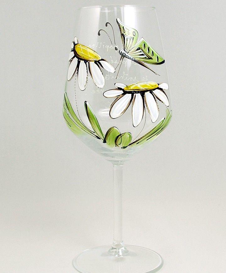 Coupe (490 ml) : : Marguerites et papillon