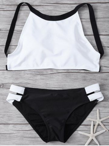 GET $50 NOW | Join RoseGal: Get YOUR $50 NOW!http://m.rosegal.com/bikinis/high-neck-color-block-padded-855926.html?seid=7493207rg855926
